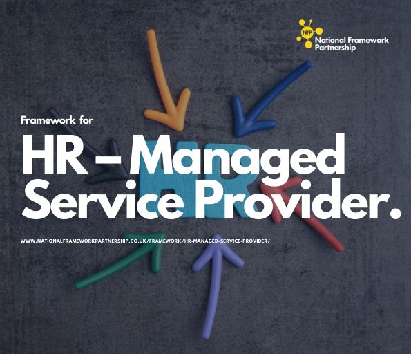 Recruitment – Managed Service Provider Framework